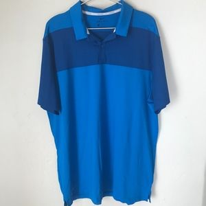 Dri-Fit Blue Nike Golf Polo | Size Large